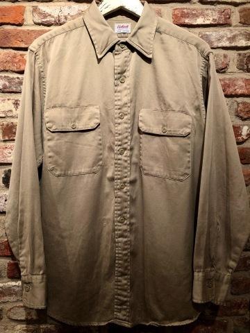 "1960s \"" U.S ARMY \"" 100% cotton SATEEN OG-107 VINTAGE UTILITY CAP - SNOOPY ピンズ付 - ._d0172088_19530460.jpg"