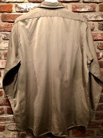 "1960s \"" U.S ARMY \"" 100% cotton SATEEN OG-107 VINTAGE UTILITY CAP - SNOOPY ピンズ付 - ._d0172088_19540714.jpg"