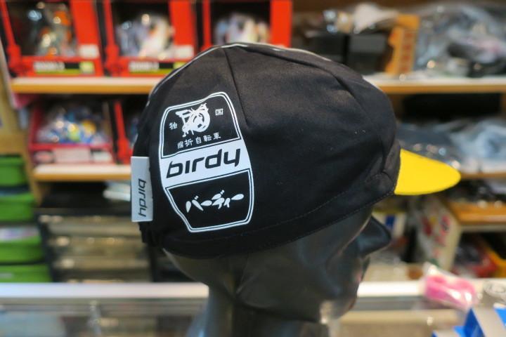 birdy オリジナルサイクリングキャップ入荷!_c0132901_20372290.jpg
