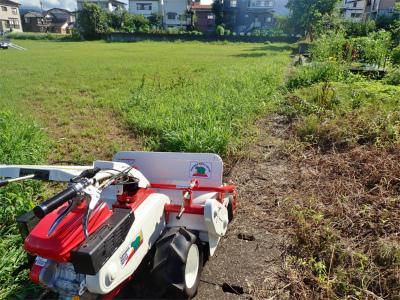 耐久山岳マラソンなどの準備で駐車場の草刈りをしました_c0336902_14172328.jpg