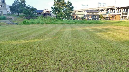 耐久山岳マラソンなどの準備で駐車場の草刈りをしました_c0336902_14174350.jpg