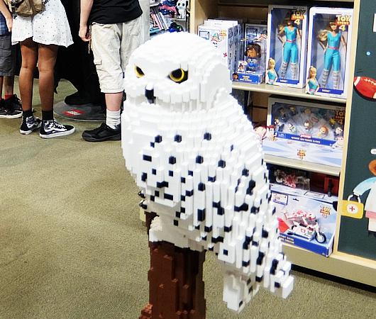 レゴ・ブロック製のハリー・ポッターとヘドウィグ_b0007805_03282513.jpg