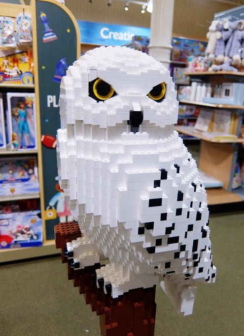 レゴ・ブロック製のハリー・ポッターとヘドウィグ_b0007805_03295961.jpg
