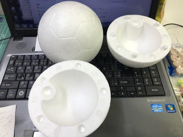 【完売御礼】スチロールのサッカーボール_d0156706_11594534.jpg