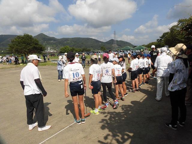 暑さが堪える中、第24回富士市ゲートボールジュニア大会in雁(かりがね)公園_f0141310_07462745.jpg