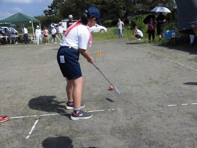暑さが堪える中、第24回富士市ゲートボールジュニア大会in雁(かりがね)公園_f0141310_07474474.jpg