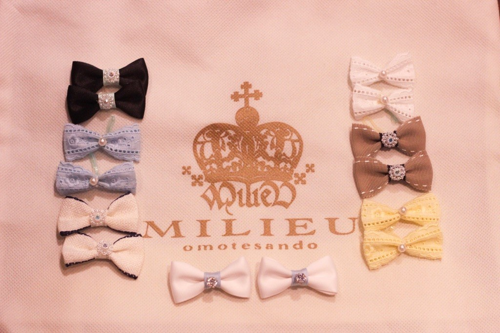 ☆ MILIEU original ribbon extension ☆_d0060413_14312957.jpg