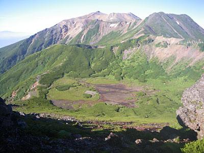 御嶽山 継子岳、四の池、三の池_a0133014_1826450.jpg