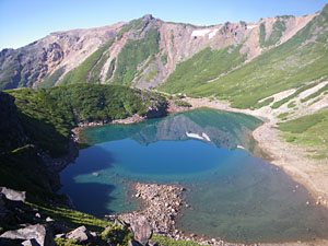 御嶽山 継子岳、四の池、三の池_a0133014_18332352.jpg