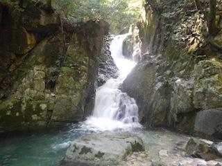 シャワー三昧の粥川は秋の気配_c0359615_21502234.jpg