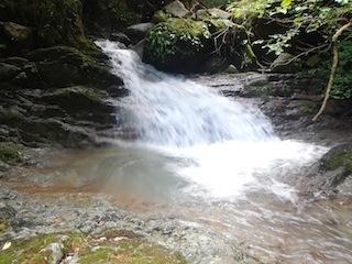 シャワー三昧の粥川は秋の気配_c0359615_21511154.jpg