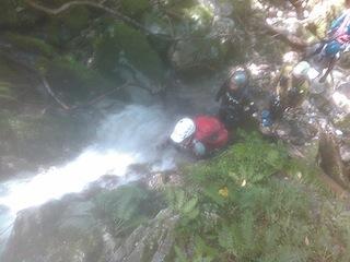 シャワー三昧の粥川は秋の気配_c0359615_21540881.jpg
