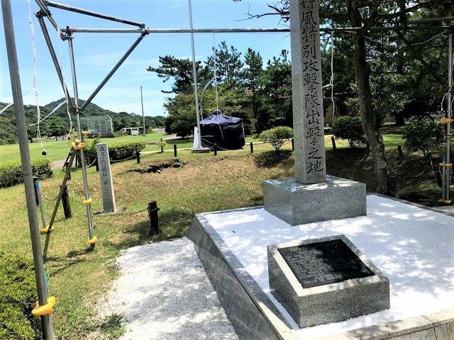 戦争遺跡越しの宮崎の空_d0137326_18151273.jpg