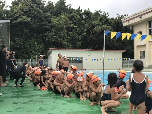 校内水泳記録会④閉会式_a0131631_12275143.jpeg