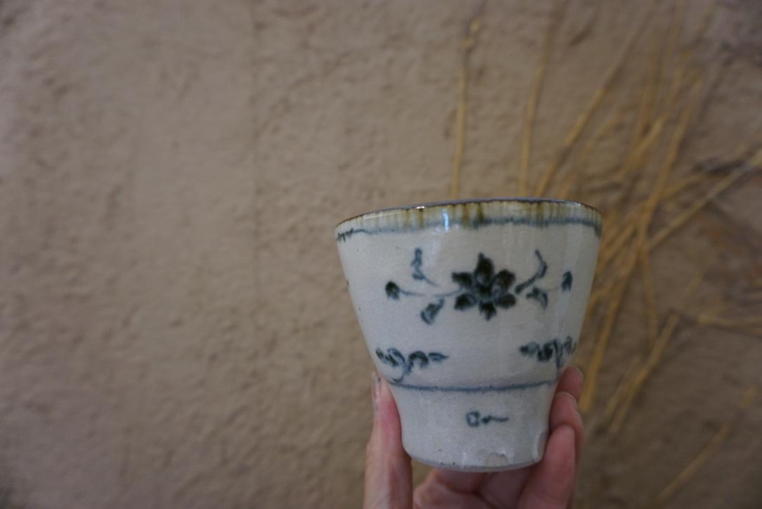 藤田佳三さんの染付小湯呑みとマルチカップが届きました_b0132442_14313073.jpg