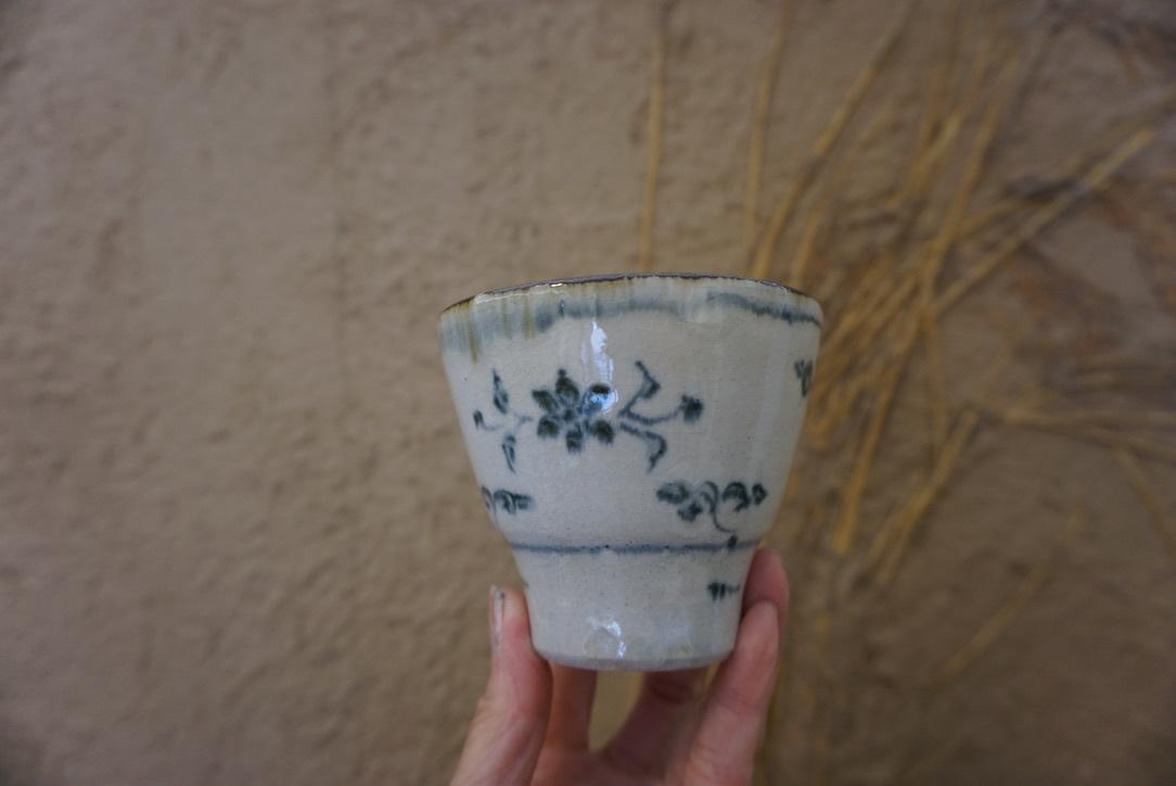 藤田佳三さんの染付小湯呑みとマルチカップが届きました_b0132442_14313498.jpg