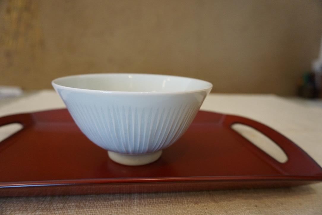 長井均さんのお皿と菓子器_b0132442_15243700.jpg