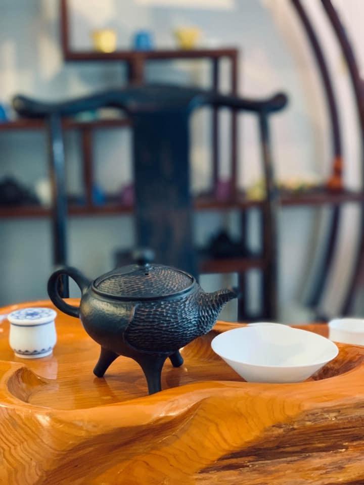中国茶と生ハム_f0070743_15453433.jpg