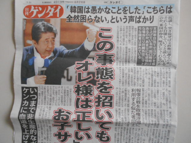 JR車中で拾った日刊ゲンダイ_b0050651_08472130.jpg