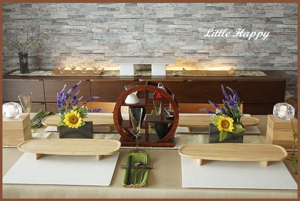 「酒豪会」のためのテーブルコーディネート_d0269651_09110868.jpg