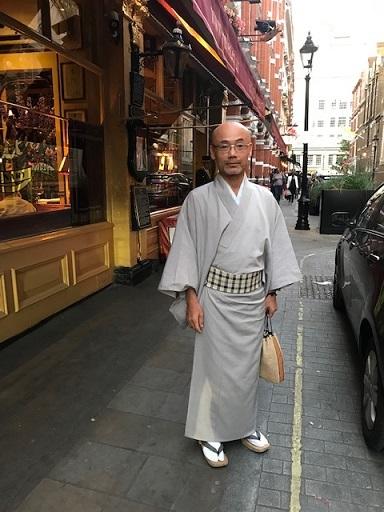 英国最終日・着物でロンドン最古のレストランRulesへ。_f0181251_19134118.jpg