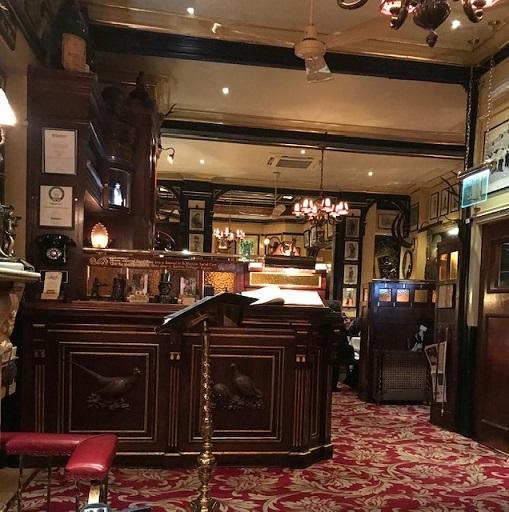 英国最終日・着物でロンドン最古のレストランRulesへ。_f0181251_19150929.jpg