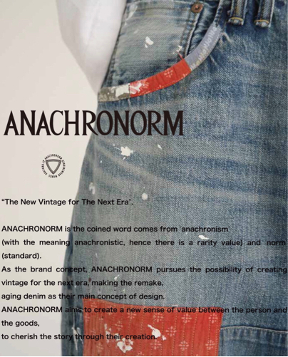 【ANACHRONORM】 ARCHIVE SAMPLE FAIR  @FLATBUSH_KOBE_d0227059_05131467.jpg