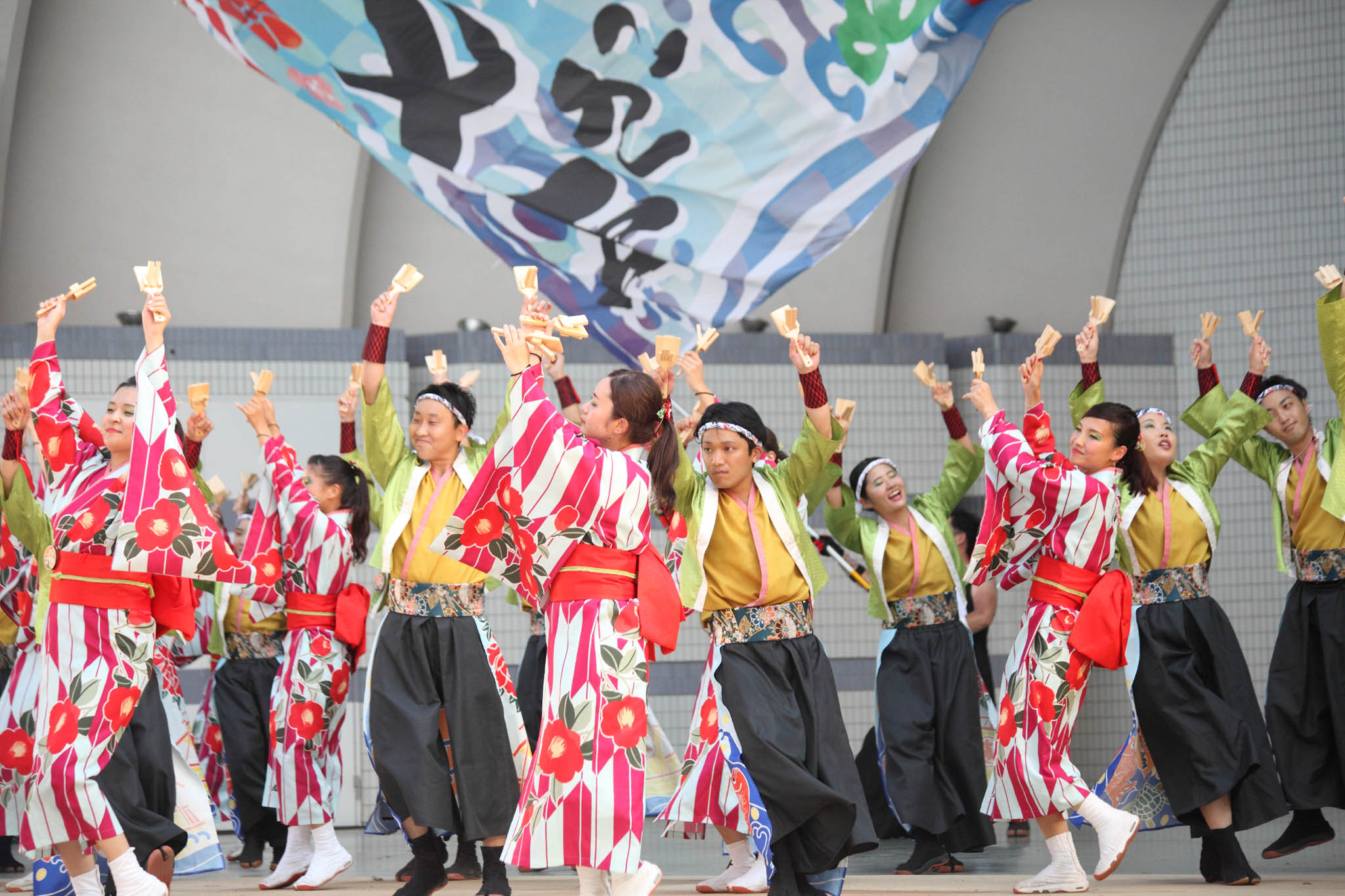 原宿表参道元氣祭スーパーよさこい2019【10】_c0299360_21483488.jpg