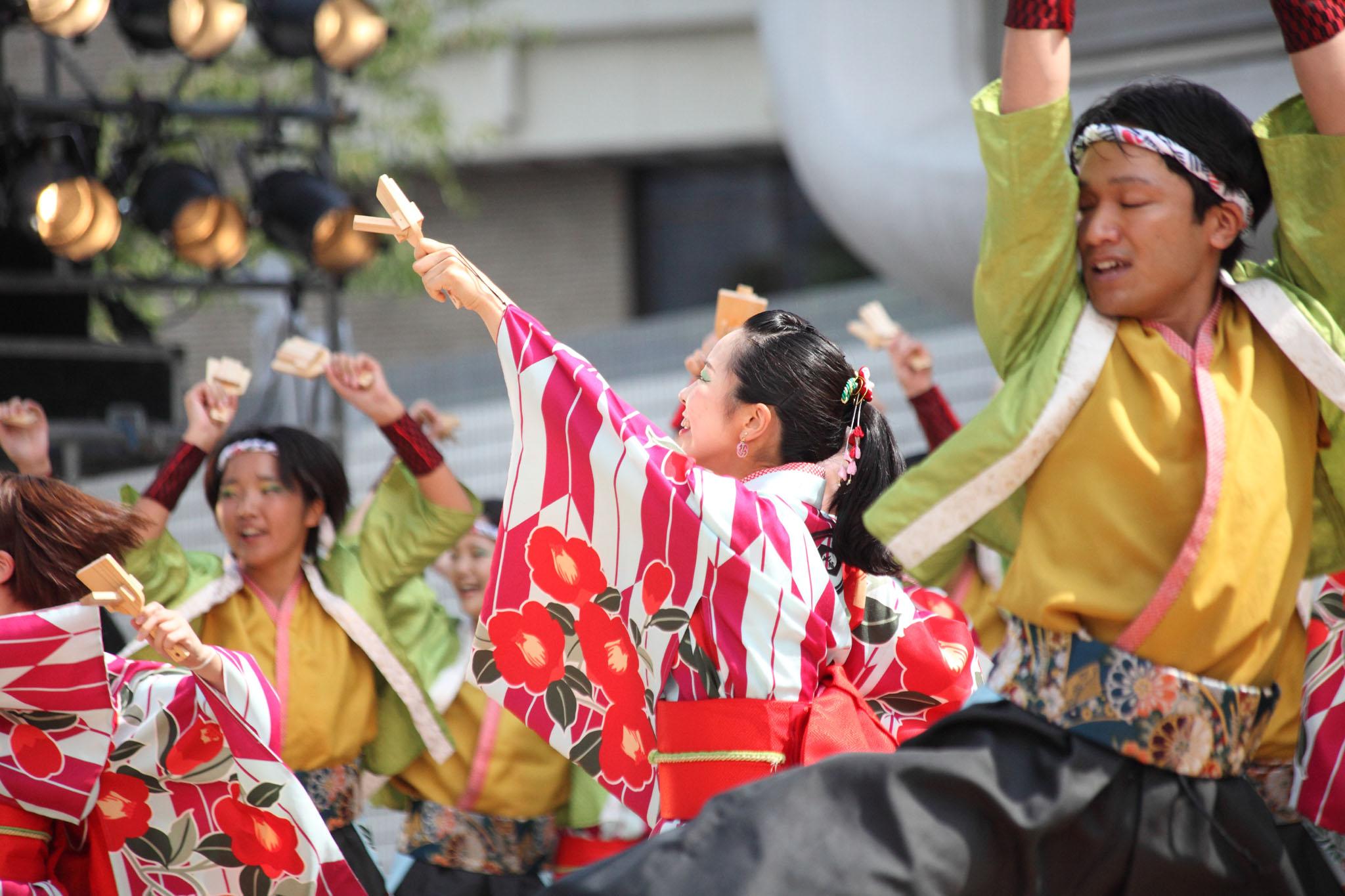 原宿表参道元氣祭スーパーよさこい2019【11】_c0299360_2224942.jpg
