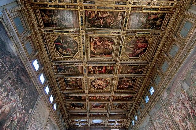 フィレンツェ ヴェッキオ宮殿とヴェッキオ橋_b0358575_05442386.jpg