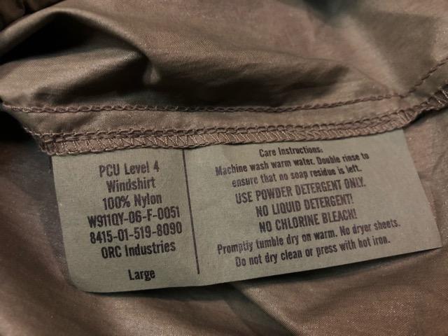 8月31日(土)マグネッツ大阪店モダンミリタリー入荷日!!#4 Level3, Level4, Level5編! U.S.Special Force PCU & RunningJKT !!_c0078587_1935461.jpg