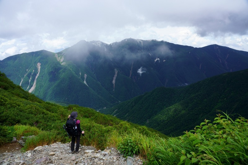 北岳 〜肩の小屋を目指して〜_f0321522_21281422.jpg