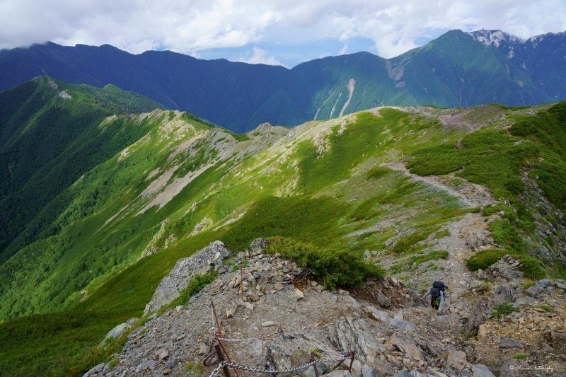 北岳 〜肩の小屋を目指して〜_f0321522_23082153.jpg