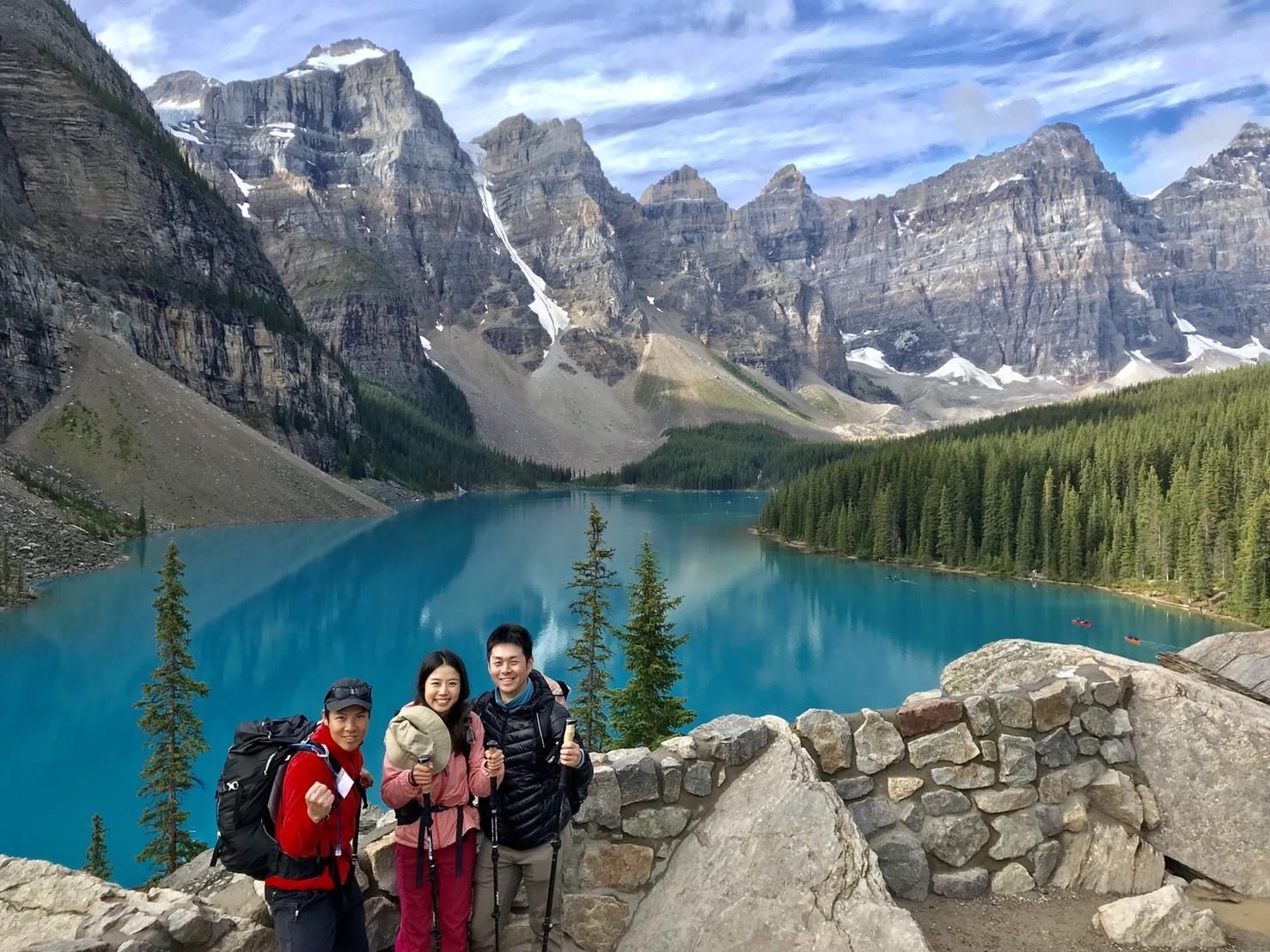 カナダならではの湖と3,000mの山々を求めて_d0112928_11491089.jpg
