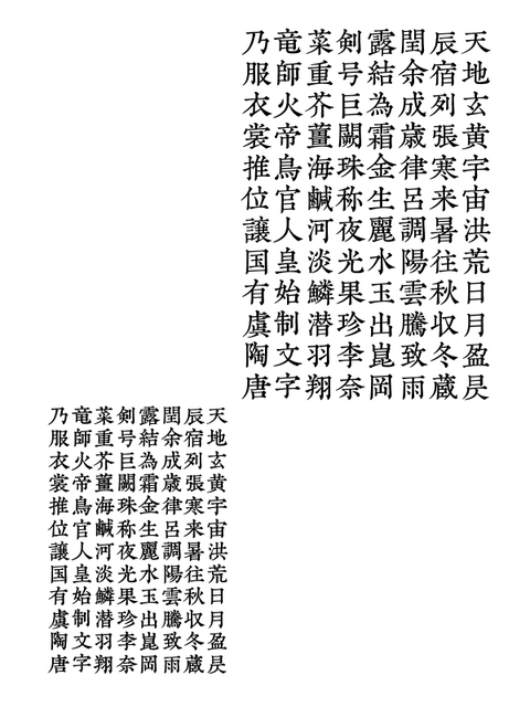 千字文断章「毛晋」(2015年8月)_a0386342_20153678.jpg