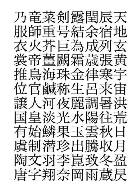 美華と上巳:似て非なるふたつの書体(一)_a0386342_20154605.jpg
