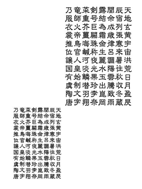 千字文断章「洛陽」(2016年 5月)_a0386342_20155129.jpg