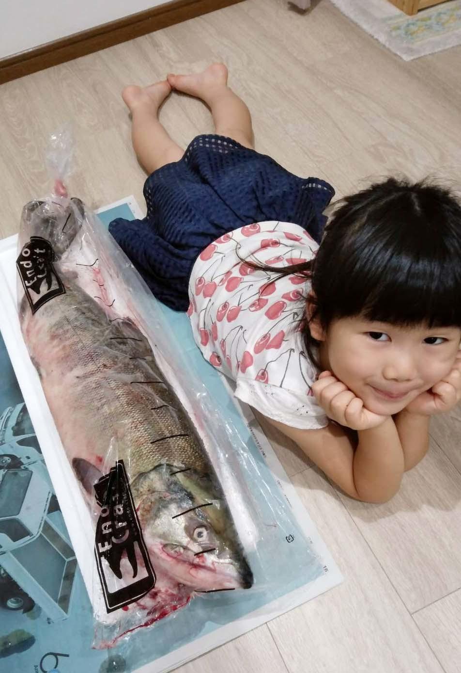 銀毛鮭・・・1匹ちょうだいしました!_d0377645_23142253.jpg