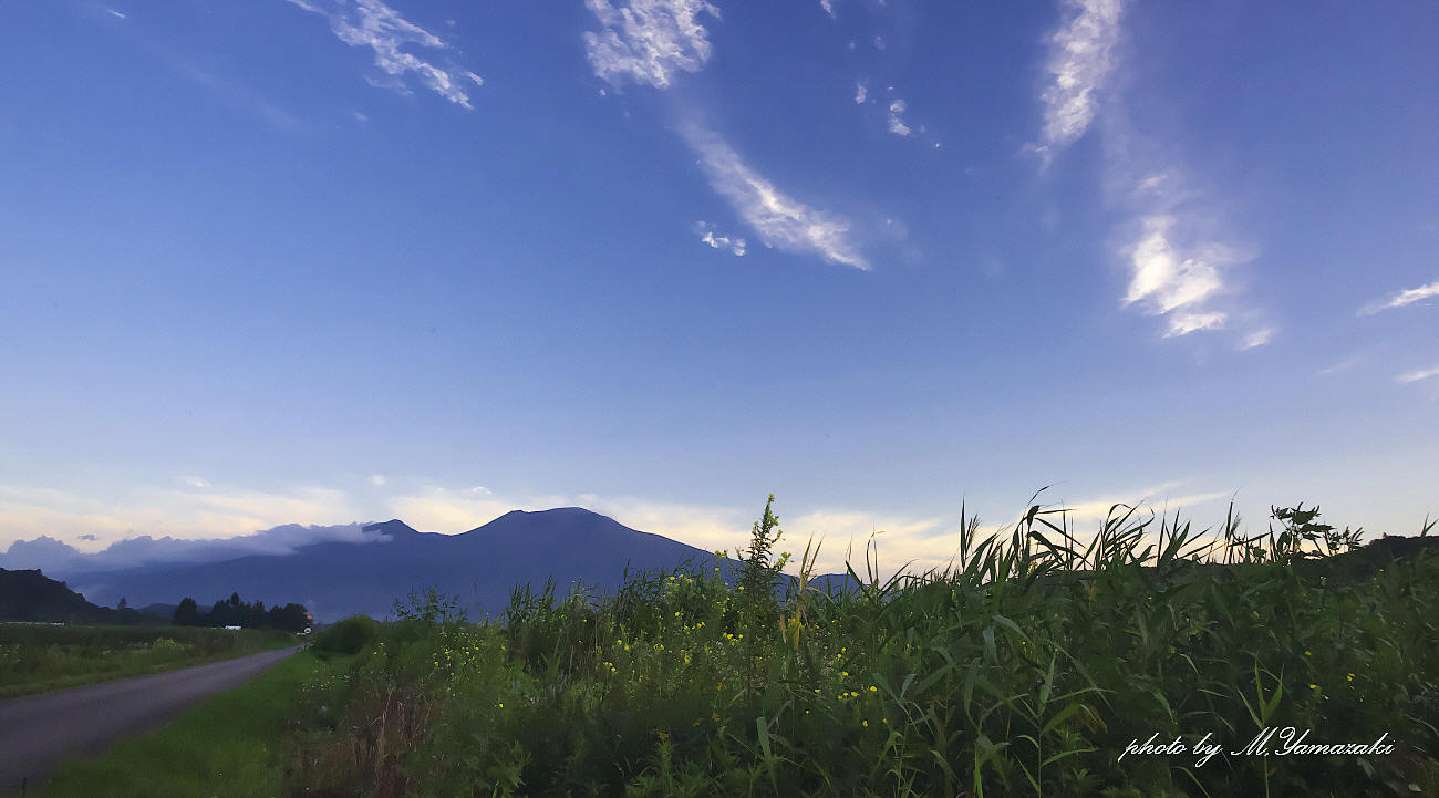 山の夜明けと山での出会い_c0217255_05594295.jpg