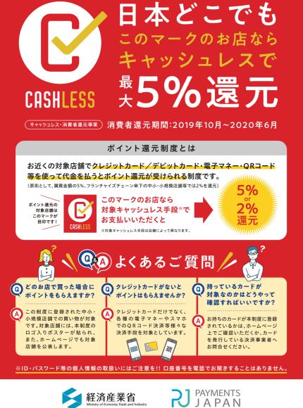 キャッシュレス還元についてのお知らせ_e0133255_16023555.jpeg