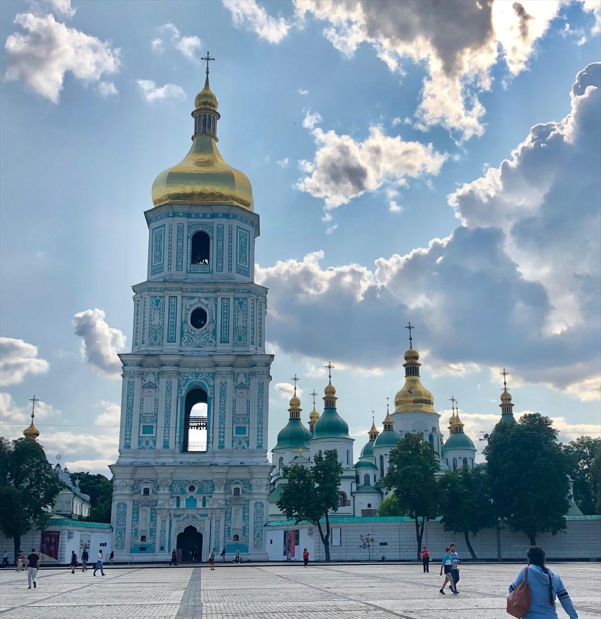 聖ミハイル黄金ドーム修道院@キエフ/ウクライナ_a0092659_16425249.jpg
