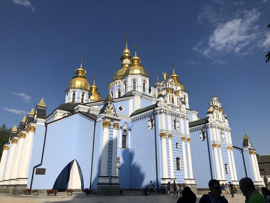 聖ミハイル黄金ドーム修道院@キエフ/ウクライナ_a0092659_16483136.jpg