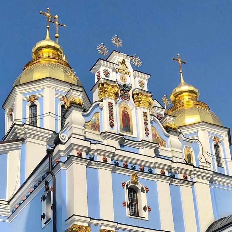 聖ミハイル黄金ドーム修道院@キエフ/ウクライナ_a0092659_16530450.jpg