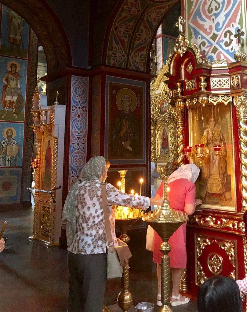 聖ミハイル黄金ドーム修道院@キエフ/ウクライナ_a0092659_17251214.jpg