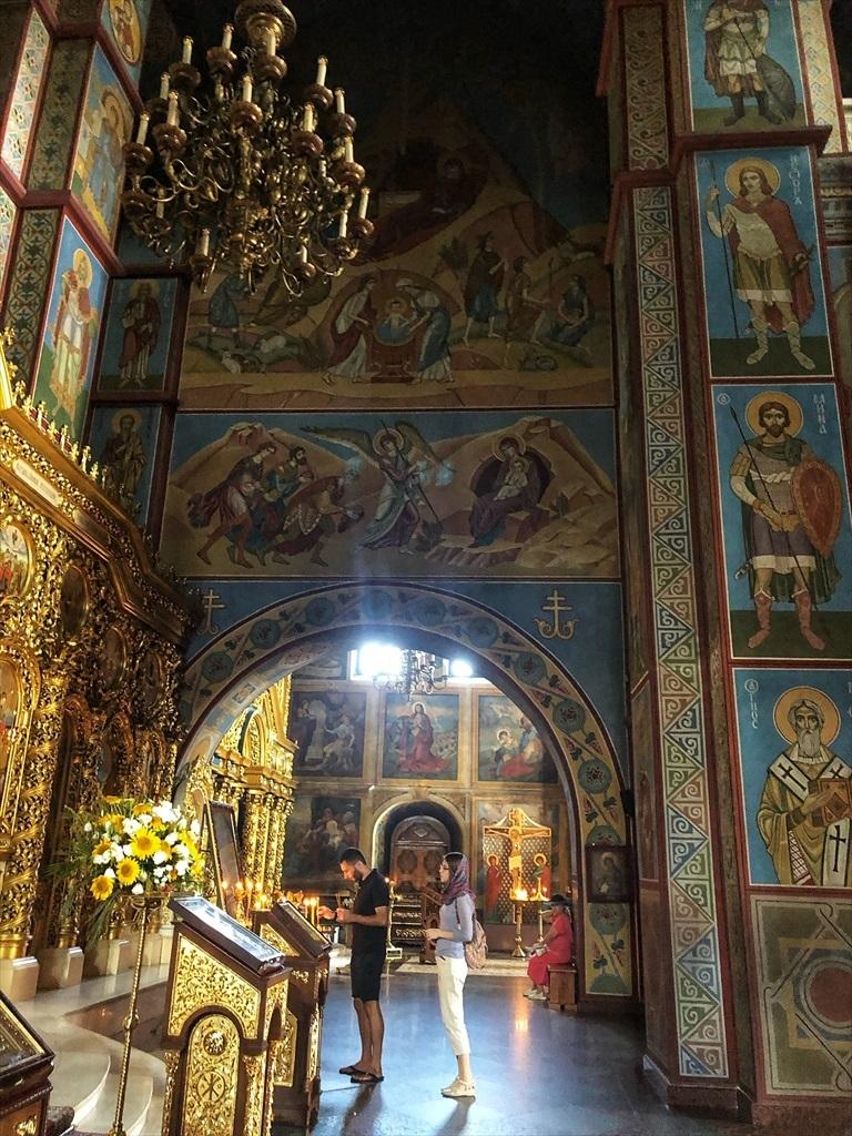 聖ミハイル黄金ドーム修道院@キエフ/ウクライナ_a0092659_18495660.jpg