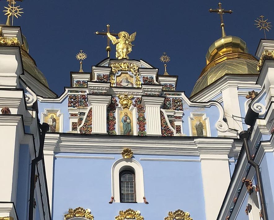 聖ミハイル黄金ドーム修道院@キエフ/ウクライナ_a0092659_19105206.jpg