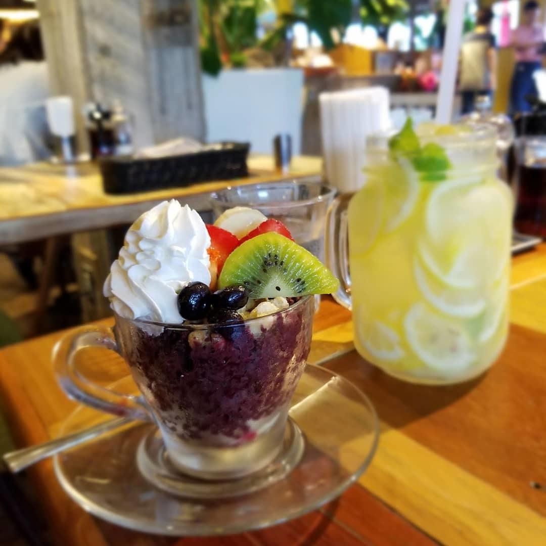 Kona\'s Coffee * まるでハワイなカフェの beach & peach フェア♪_f0236260_01063644.jpg