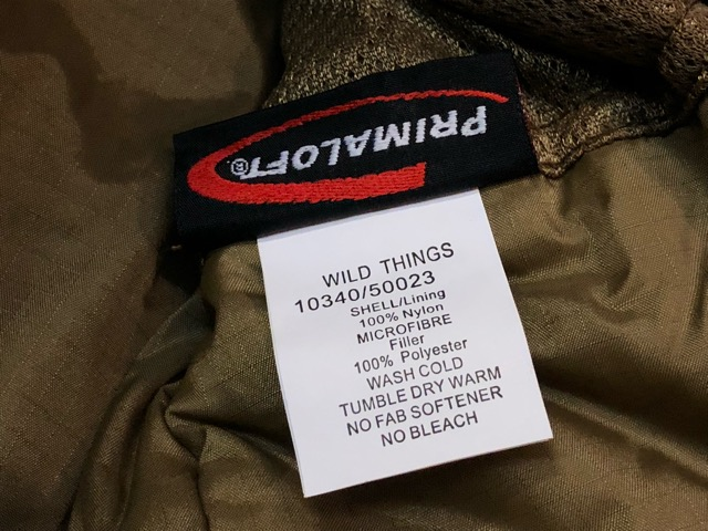 8月31日(土)マグネッツ大阪店モダンミリタリー入荷日!!#8 WILD THINGS TACTICAL編! AlpinistHardShellJKT & Level7 PrimaloftJKT!!_c0078587_20274344.jpg