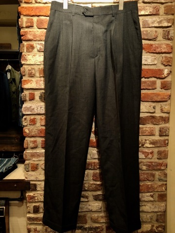 """1940s \"""" U.S ARMY \"""" 100% cotton VINTAGE OFFICER - マチ付き - CHINOS SHIRTS ._d0172088_19502913.jpg"""