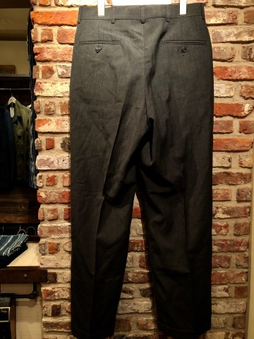 """1940s \"""" U.S ARMY \"""" 100% cotton VINTAGE OFFICER - マチ付き - CHINOS SHIRTS ._d0172088_19511175.jpg"""